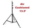 "Pro Heavy Duty 13.5"" Air cushioned Lighting Stand With All Metal Locking Collars"