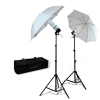 NEW Studio Translucent Umbrella Light Continuous Video Lighting Kit