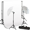 NEW Studio Umbrella Light Backdrop Stand Kit