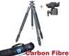 "Pro Carbon Fibre Fiber CF Professional 62"" Tripod with Ball Head"
