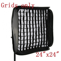"NEW 60cm / 24"" honeycomb gird for SpeedLight Flash Softbox with velcro"