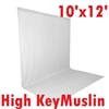 NEW HIGH KEY WHITE Muslin Background 10'x12' Backdrop