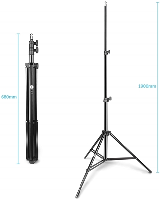 NEW 2 x 7' LIGHT STAND PHOTO STUDIO LIGHTING Stands