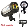NEW PRO 600W/S STROBE STUDIO FLASH DIGITAL MONOLIGHT MASTER HEAD