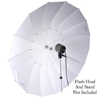 Photo photography 75 inch translucent parabolic umbrella