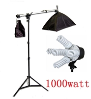 Pro Photo Studio Softbox Lighting Boom Arm Video Light Set