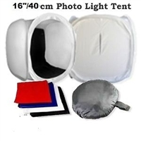 "NEW Professional 40cm/16"" Studio Cube Photo Light Tent"
