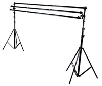 New Triple Cross Bar Background 7ft Support Backdrop Stand Kit for Video photography portrait
