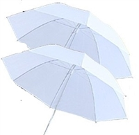 "Brand new  2 x 33"" photography translucent umbrellas"