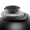 All metal interchangeable speedring adapter for Bowens Beauty dish