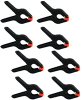 NEW 8 pieces Photo Studio Universal Pro Clamps for Muslin, Canvas, Vinyl and Paper Backgrounds