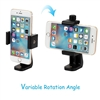 Universal Cell Phone Tripod Mount Adapter Smartphone Holder Mount Clip for iPhone 8 8plus X, 7 7plus 6 6s 6plus 5 5s, Samsung, Huawei P9 honor 8 and more Phones, Selfie Monopod Adjustable Clamp