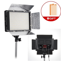 PRO Bi Color 500 LED Light Panel With Dimmer Switch 16V AC DC 110V to 240V LED Video Lighting With V Mount Plate