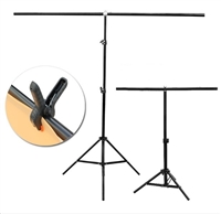 New 2M x2M T shape Background Support Backdrop Stand Kit with case