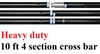 New heavy duty 10 feet 4 section cross bars for backdrop support system