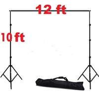 Heavy Duty 10'x 12' Background Support Backdrop Stand Kit