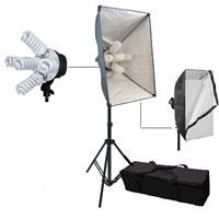 Pro Photo Studio 5-socket Softbox LightingVideo Light Set