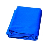 New high key muslin 10'x20' blue backdrop studio background