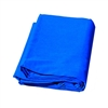 New high key muslin 6'x9' blue backdrop studio background