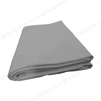 New high key muslin 10'x12' grey backdrop studio background