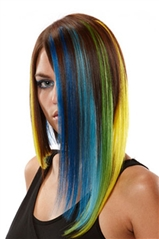 EasiLites Clip In Human Hair Extensions In Fun Colors!