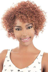 THIN AFRO MIXTURE CURLY SHORT OL 11""