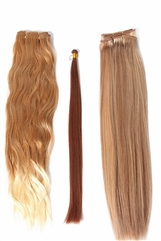 "18"" OCH Silky Straight (1 Piece) - Remy Human Hair Extension - Wefted"