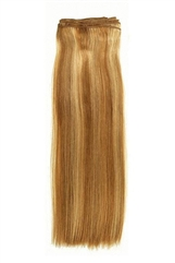 "22"" OCH Silky Straight (1 Piece) - Remy Human Hair Extensions - Wefted"