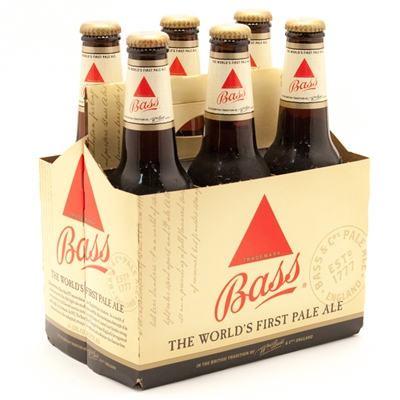 Bass Ale 12 oz (6 Pack)