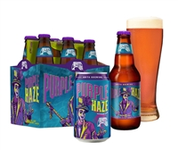 Abita Purple Haze Raspberry Wheat 12 oz (6 Pack)