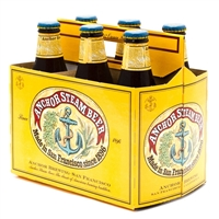 Anchor Steam Beer 12 oz (6 Pack)