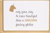 Enfant Terrible Unicorn Farting Glitter Card
