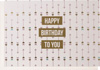 Enfant Terrible Happy Birthday to You Card