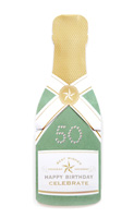 My Design Co. Champagne Cracker Card Happy Birthday 50