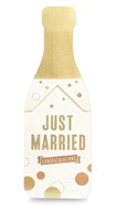 My Design Co. Champagne Pop Cracker Card Married