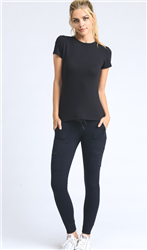 Skinny Cargo Leggings With Pockets