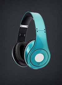 Blue Headphones Combo