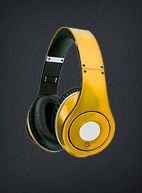 Yellow Headphones XLT