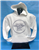 Youth White Circle Hoodie