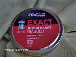 JSB Exact Heavy .22 18.1/500 tin