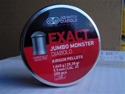 JSB Exact Monster .22 25.4/200 tin