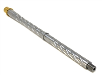 "CHF 16"" 5.56 NATO Mid Spiral Fluted Stainless Barrel"