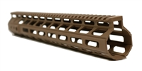 "15"" ALPHA M-LOK Hand Guard - FDE"