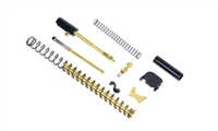 ALPHA TiN G17 Super Duty 9mm Slide Completion Kit w/ TiN Guide Rod