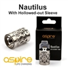 ASPIRE NAUTILUS REPLACEMENT TANK (Authentic)