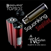 Topside Single 21700 Top Fill Squonker Mod by Dovpo