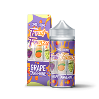 FRUIT FRENZY - GRAPE TANGERINE 100mL (6mg Out of Stock)