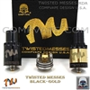 Twisted Messes RDA Black/Brass (Authentic)(out of stock)