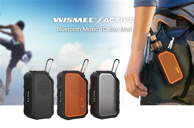 Active Bluetooth Music TC Box Mod by Wismec