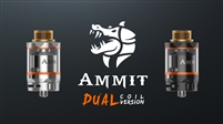 Ammit Dual Coil RTA By GeekVape (Out of Stock)